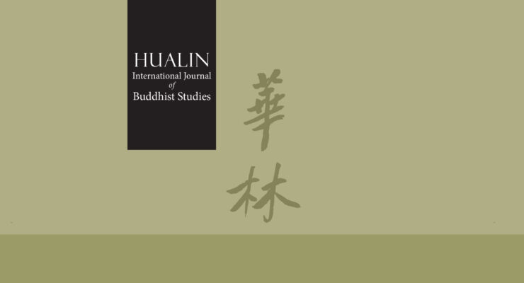 Launch of Hualin International Journal of Buddhist Studies (HIJBS)